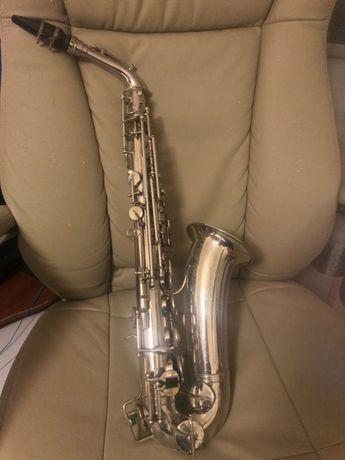 Saxofone Pierret Corps Embouti - stencil Johannes Adler