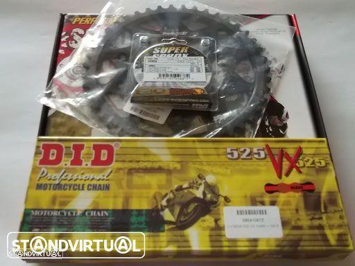 Kit Transmissao corrente DID VX X-Ring Honda CBR 600 F3/F4 de 1997 a 2007