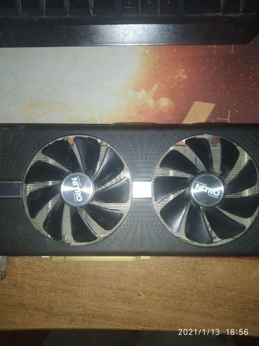 RX 580 Nitro+ (4gb) Ромны - изображение 1