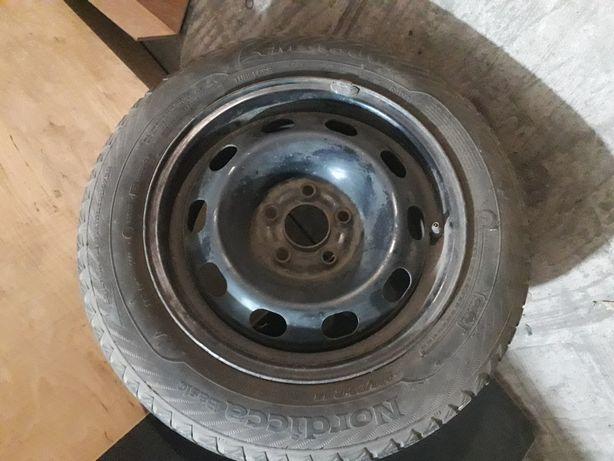 Зимова гума на запаску диск R14 5x100
