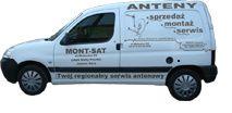 Anteny TV-SAT, internet montaż,ustawiene,naprawy Mont-Sat J.G.