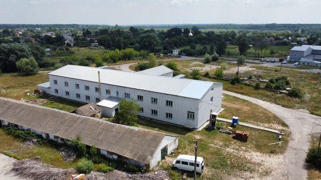 Аренда укомплектованого склада со всеми комуникациями Калиновка Дибров