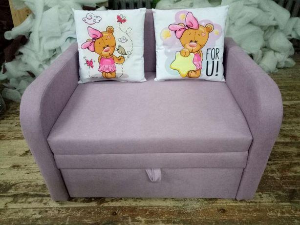Детский диван кресло кровать ЮнTeddi90