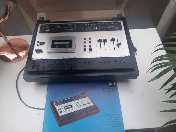 Deck/Magnetofon Dual C939 stan BDB Z książką serwisową