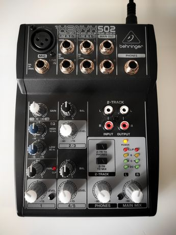 Beringer Xenyx 502