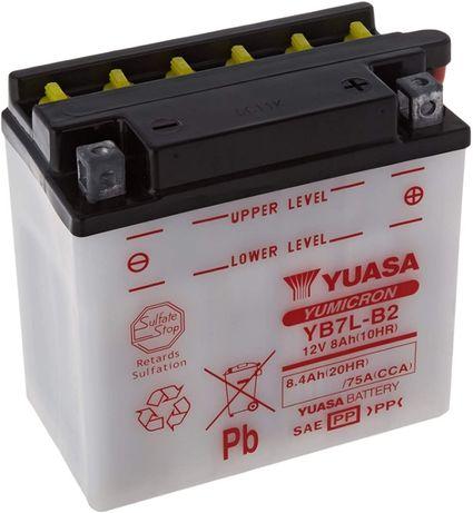 Bateria para moto Yuasa nova ainda na caixa, por carregar