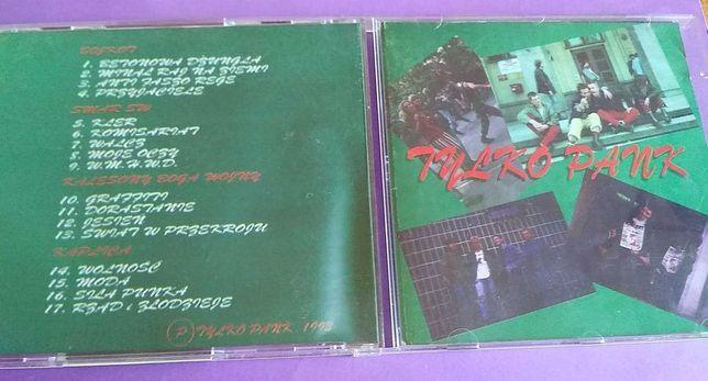 TYLKO PANK - CD lata 90 , unikat , Smar S.W i inni