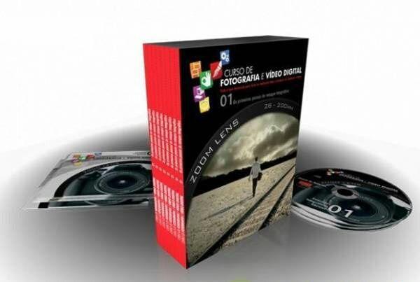 Curso de Fotografia e Vídeo Digital (NOVO) Portes Grátis