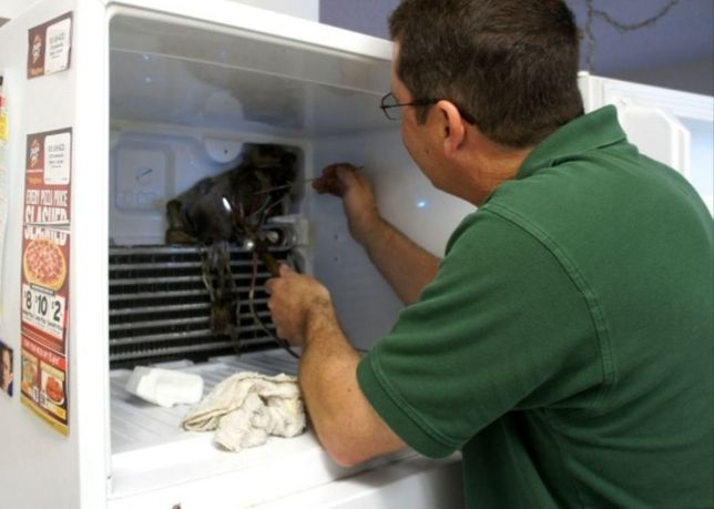 Ремонт холодильников и морозильных камер.