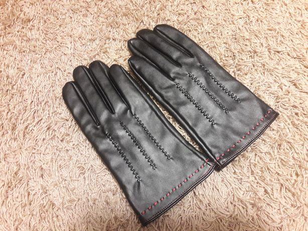 Nowe czarne rękawiczki Eco rozmiar M/L