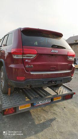 Jeep Grand Cherokee WK2 по запчастинам 3.0d (бампер двери полуось )