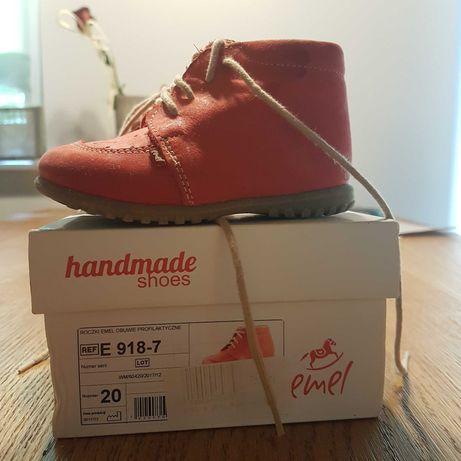 Handmade shoes trzewiki dziecięce rozmiar 20