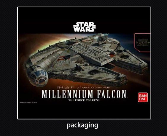 Star Wars Sokół Milenium 1:144 Model do składania
