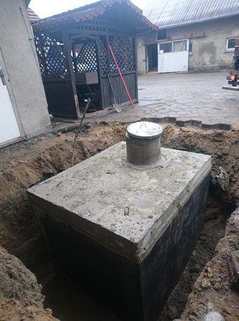 Szambo szamba zbiorniki betonowe Wrocław Opole Katowice Łódź Poznań 12