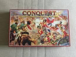 "Jogo tabuleiro Vintage ""Conquest"""
