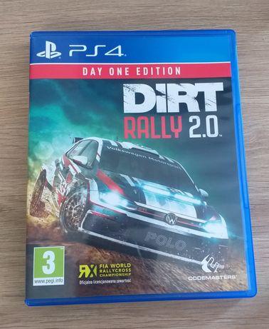 Dirt 2.0 PS4 polska wersja językowa PlayStation