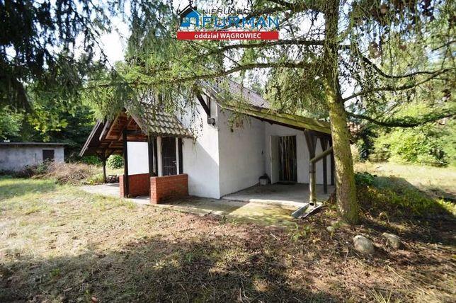 Dom mieszkalny przy jeziorze i lesie Owczegłowy gm.Rogoźno na sprzedaż