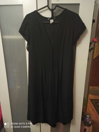 Granatowa sukienka H&M rozmiar 46