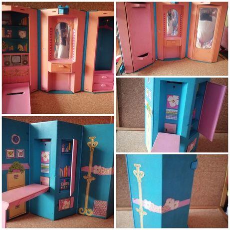 Estúdio e quarto da Barbie anos 80 vintage / Relíquia