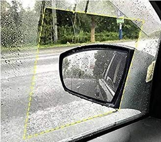 наклейка на стекло автомобиля 17.5x20 Анти дощ ( 2 шт.)