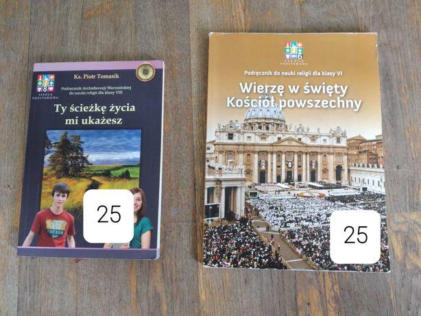 Podręczniki od religii kl 8 i klasa 6