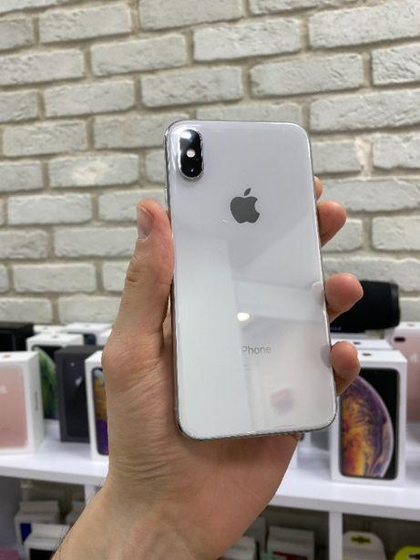 Apple iPhone Xs 64Gb Silver Neverlock Отличное состояние с Гарантией