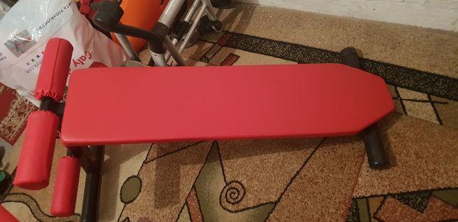 ławka do ćwiczeń zestaw Kelton + trochę ciezaru