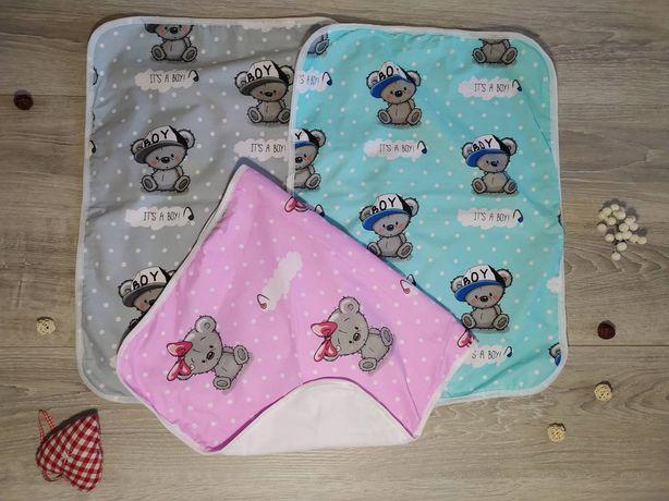 Непромокаемые многоразовые пеленки для новорождённых