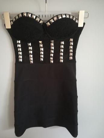 Sukienka #ćwieki asos XS