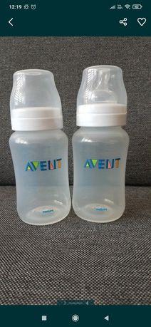 2 Nowe butelki antykolkowe AVENT + gratis