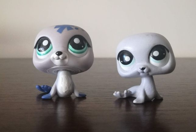 littlest pet shop foka - 2 szt.