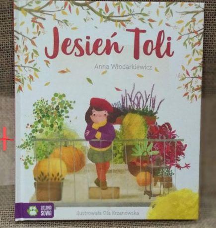 książka Jesień Toli - Anna Włodarkiewicz