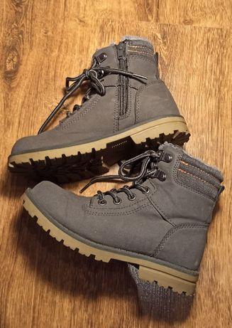 buty zimowe, ocieplane lupilu, r. 29, wkładka: 19 cm