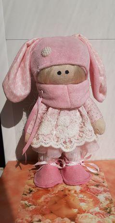 Интерьерная текстильная кукла. Ручная работа.