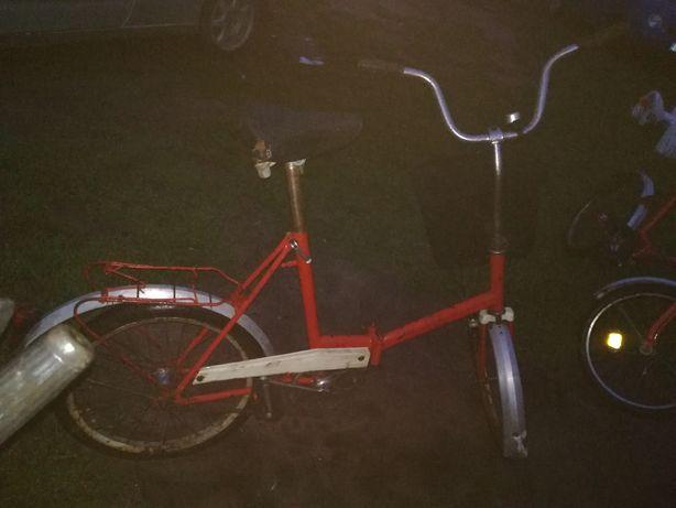 Wigry i Romet rower składak