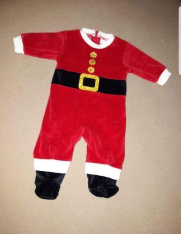 Świąteczny strój  Mikołaja