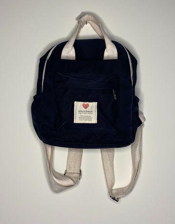 мини-рюкзак чёрного цвета