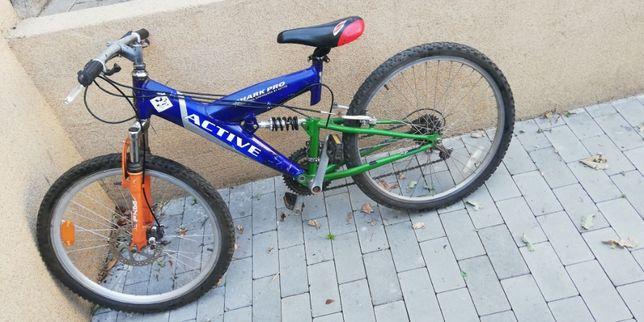 "Rower 24"" - amortyzatory"