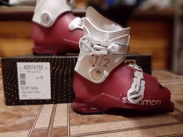 Buty narciarskie Salomon rozm. 21 w bardzo dobrym stanie po 1 sezonie