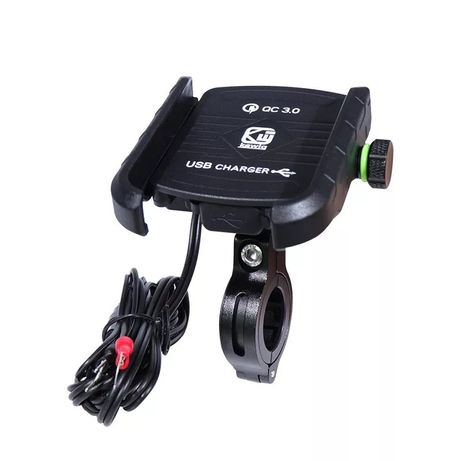 Carregador telemóvel para mota USB