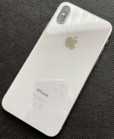 Iphone X , Silver 256 mb