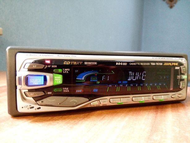 Radio kasetowe ALPINE TDA-7572R - wysoki model !!