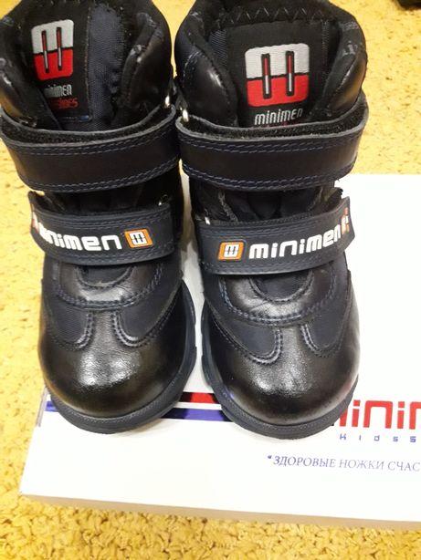 Зимние ботинки минимены