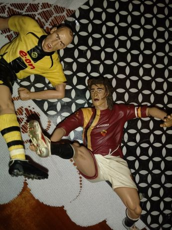 Stare kolekcjonerskie figurki piłkarzy TOTTI i KOLLER