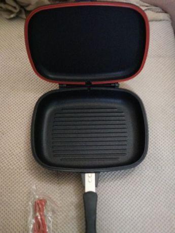 Сковорода, пательня А-плюс, ,A-Plus 34см алюминий с тефлоном