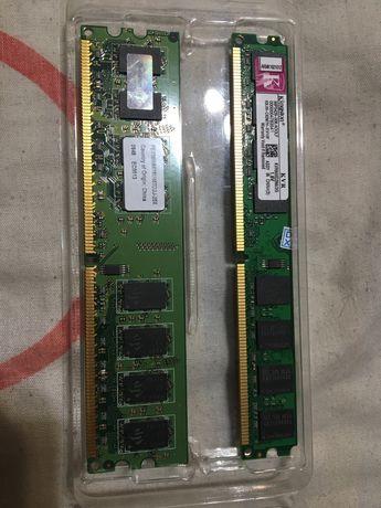 Озу DDR2 / ddr2 4gb(2+2) только AMD