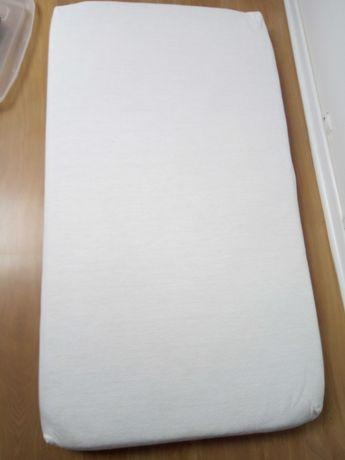 Materac do łóżeczka  115 x 65 gryka pianka kokos
