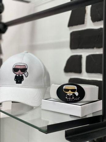 Женский ремень кожаный Karl Lagerfeld!ЛУЧШИЙ ПОДАРОК.CHANEL.Guess!