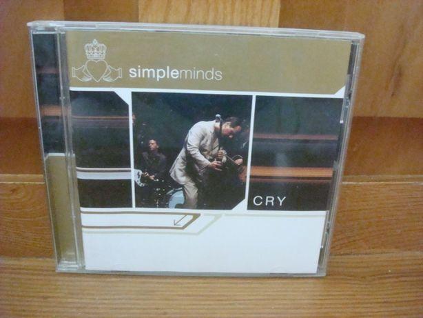 CD Simple Minds - Cry ( CD Novo E Original )