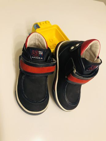 Детские демисезонные ортопедические  ботинки 21 размер